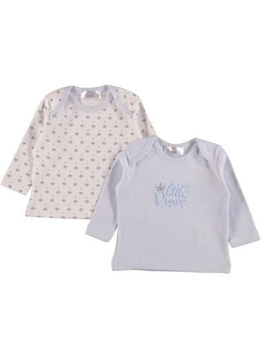 Locopop 2'li Pijama Üst Mavi
